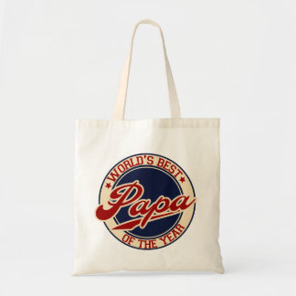 World's Best Papa Budget Tote Bag
