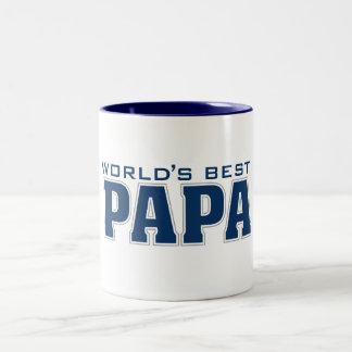 World's Best Papa Two-Tone Mug