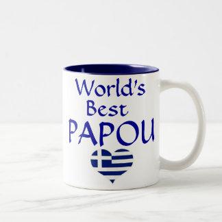 World's Best Papou Mug - for your greek grandpa!