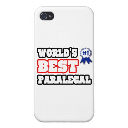 World's Best Paralegal Cases For iPhone 4