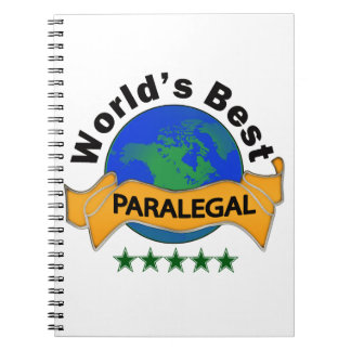World's Best Paralegal Notebooks
