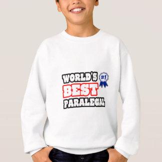 World's Best Paralegal Sweatshirt