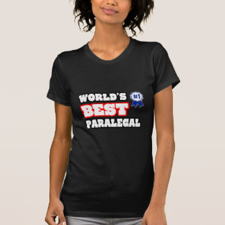 World's Best Paralegal Tshirts