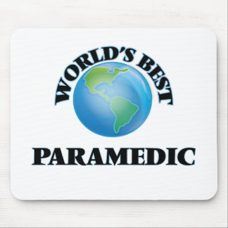 World's Best Paramedic Mouse Pads