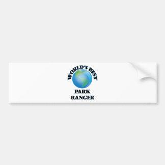 World's Best Park Ranger Bumper Sticker