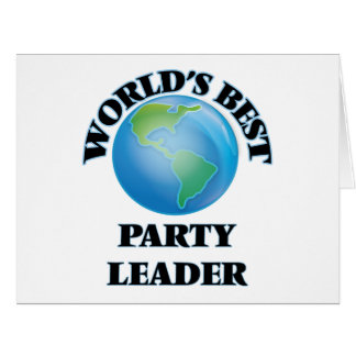 World's Best Party Leader Cards