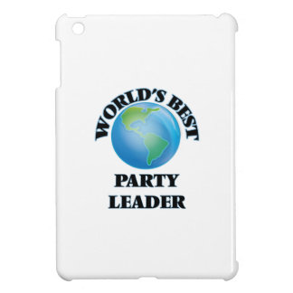 World's Best Party Leader iPad Mini Cases