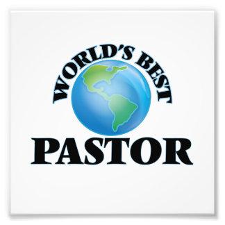 World's Best Pastor Photographic Print
