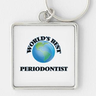 World's Best Periodontist Keychain