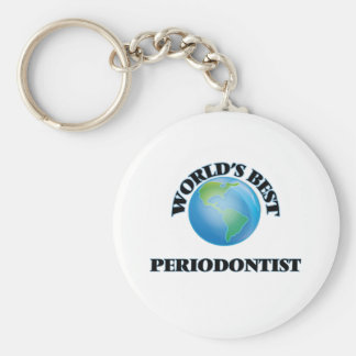 World's Best Periodontist Key Chain