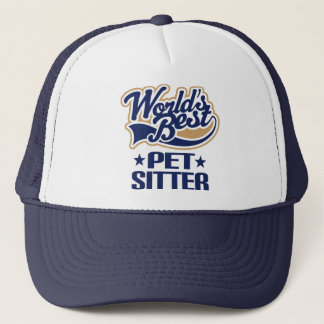 Worlds Best Pet Sitter Trucker Hat