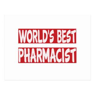 World's Best Pharmacist. Post Card