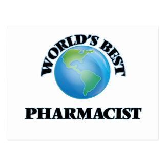 World's Best Pharmacist Post Cards