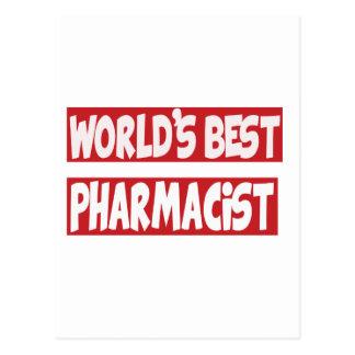 World's Best Pharmacist. Postcards