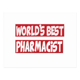 World's Best Pharmacist. Post Cards