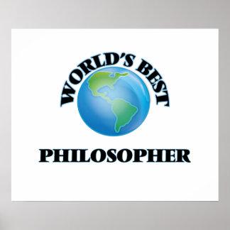World's Best Philosopher Posters