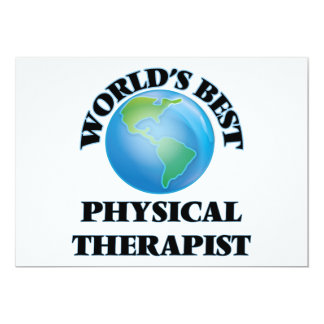 World's Best Physical Therapist Card