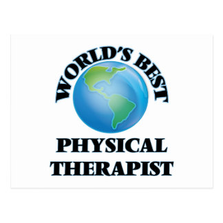World's Best Physical Therapist Postcards