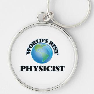 World's Best Physicist Key Chain