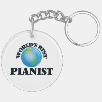 World's Best Pianist Acrylic Keychains