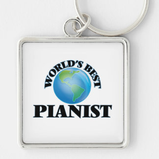 World's Best Pianist Key Chain
