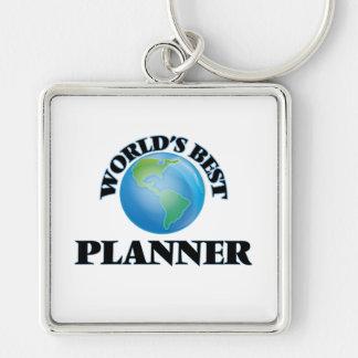 World's Best Planner Keychain