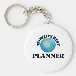 World's Best Planner Keychains
