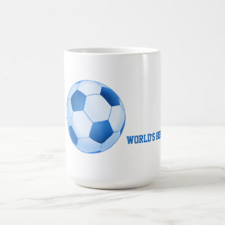 World's Best Player Blue Soccer | Football Sport Coffee Mug