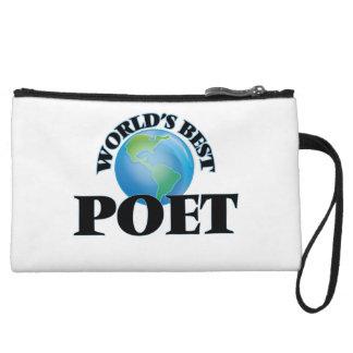 World's Best Poet Wristlets