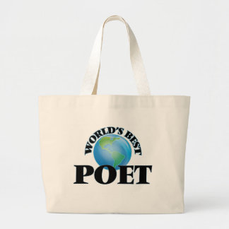 World's Best Poet Tote Bag
