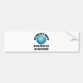 World's Best Political Scientist Bumper Sticker
