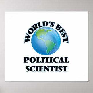 World's Best Political Scientist Print
