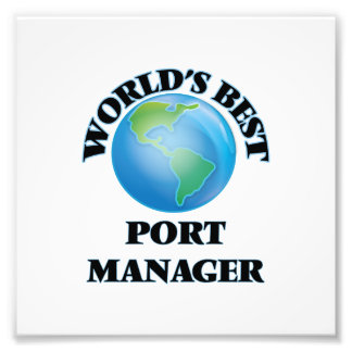 World's Best Port Manager Photo