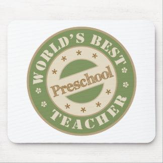 Worlds Best Preschool Teacher Mouse Mat