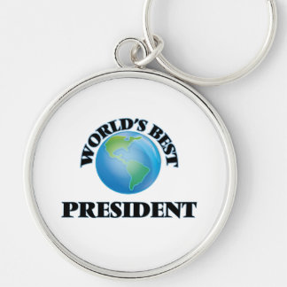 World's Best President Key Chains