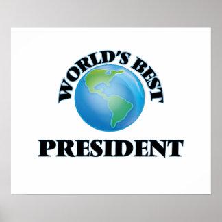 World's Best President Print