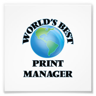 World's Best Print Manager Photo