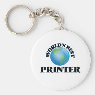 World's Best Printer Key Chain