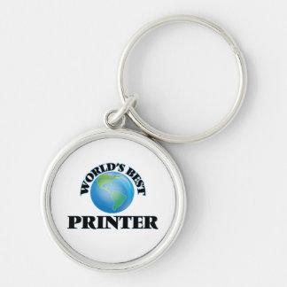 World's Best Printer Key Chains