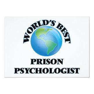 World's Best Prison Psychologist Card
