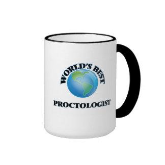World's Best Proctologist Ringer Mug