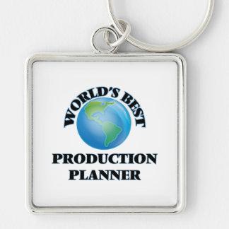 World's Best Production Planner Keychain