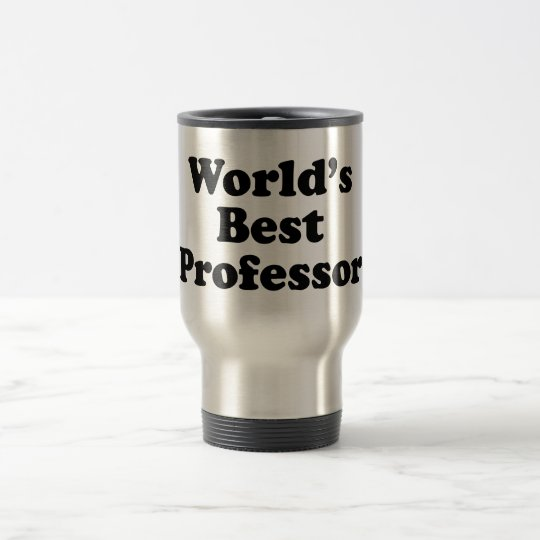 World's Best Professor Travel Mug