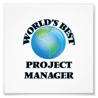 World's Best Project Manager Photograph