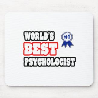 World's Best Psychologist Mousepads