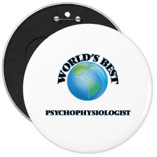 World's Best Psychophysiologist Pin