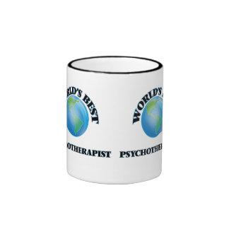 World's Best Psychotherapist Ringer Mug