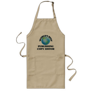 World's Best Publishing Copy Editor Aprons