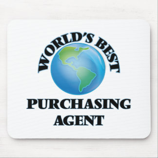 World's Best Purchasing Agent Mouse Pads