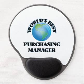 World's Best Purchasing Manager Gel Mouse Pad